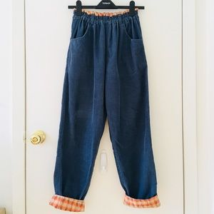 Vintage 90s Highwaisted Corduroy Pants